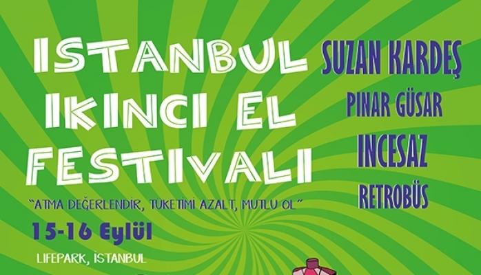 İstanbul İkinci El Festivali Başlıyor