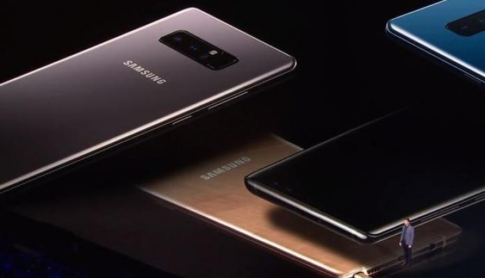 Samsung Galaxy Note9'a Güç Veriyor