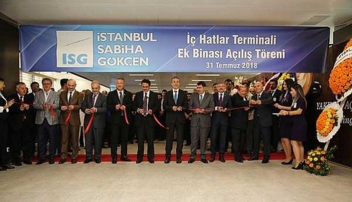 Yeni İç Hatlar Terminali Açıldı