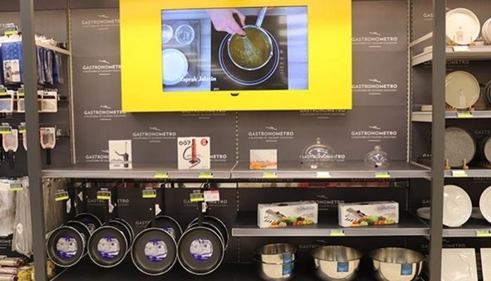 İlham Veren Mutfak Ürünleri Metro'da Satışta